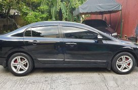 Black Honda Civic 2006 Automatic Gasoline for sale