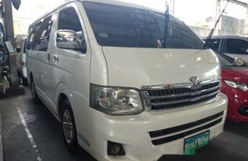 Sell White 2012 Toyota Hiace in Quezon City