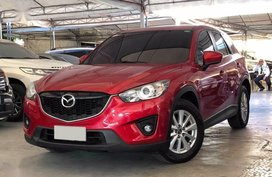 Selling Red Mazda Cx-5 2014 Automatic Gasoline in Makati