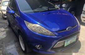 Blue Ford Fiesta 2012 Automatic Gasoline for sale in Marikina