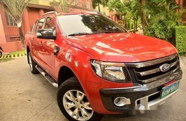 Selling Ford Ranger 2014 Automatic Diesel at 39500 km in Parañaque