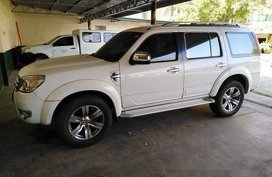White Ford Everest 2009 Automatic Diesel for sale