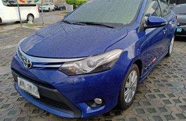 Selling 2nd Hand Sedan Blue 2015 Toyota Vios Automatic