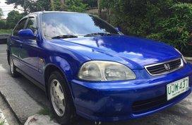 Seling 2nd Hand Sedan Blue Honda Civic 1996