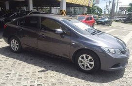 Selling Used Honda Civic 2014 Automatic Gasoline at 84000 km