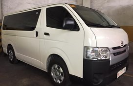 2nd Hand 2019 Toyota Hiace for sale in Quezon City