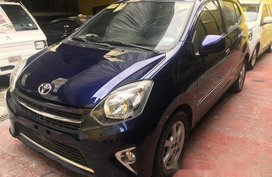 Sell Blue 2017 Toyota Wigo Automatic Gasoline in Quezon City