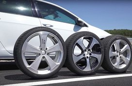 How does car wheel size affect its performance?