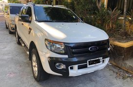 Selling Ford Ranger 2014 at 40000 km in Manila
