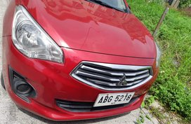 Selling Red Mitsubishi Mirage G4 2015 in Quezon City