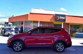 Selling 2nd Hand Red 2014 Hyundai Santa Fe in Lemery