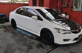 White Honda Civic 2010 Manual Gasoline for sale in Quezon City