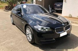 Sell Black 2015 Bmw 520D at 46000 km in Manila