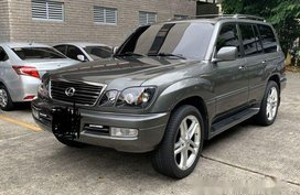 Sell 2001 Lexus Lx Automatic Gasoline at 63400 km