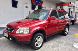 Selling 2nd Hand Red Honda CR-V 2000 at 105000 km