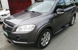 Selling Grey Suv Chevrolet Captiva 2010 Automatic
