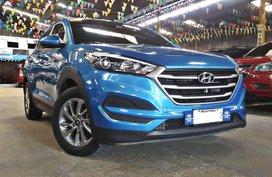 Blue 2018 Hyundai Tucson for sale in Quezon City