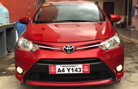 Red 2018 Toyota Vios for sale in Santiago