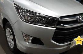 Selling Silver 2017 Toyota Innova Diesel Manual
