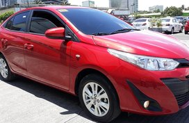 Selling Red 2019 Toyota Vios Gasoline Automatic