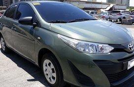 Green 2019 Toyota Vios Manual Gasoline for sale in Manila