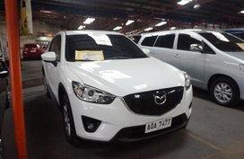 Selling White Mazda Cx-5 2015 Automatic Gasoline in Manila
