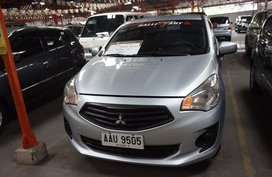Selling Silver Mitsubishi Mirage 2014 Hatchback in Manila