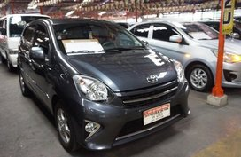 Selling Grey Toyota Wigo 2017 Hatchback in Quezon City