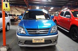 Blue Mitsubishi Adventure 2016 Manual Diesel for sale in Manila
