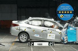 Toyota PH lineup crash-tested by Asean NCAP