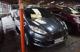 Selling Blue Ford Fiesta 2014 Hatchback Automatic Gasoline in Manila