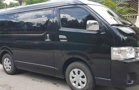 Selling Black Toyota Hiace 2018 at 1900 km in Quezon City