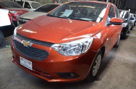 Orange Chevrolet Sail 2017 Manual Gasoline for sale in Makati
