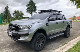 Selling Silver 2016 Ford Ranger at 17300 km