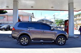 Selling Brown Suv 2013 Mitsubishi Montero Sport in Lemery