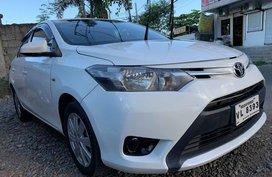 Selling Sedan White 2017 Toyota Vios Gasoline Manual