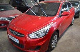 Selling Red Hyundai Accent 2017 Manual Gasoline in Makati
