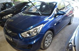Blue Hyundai Accent 2017 at 25000 km for sale in Makati