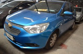 Blue Chevrolet Sail 2017 for sale in Makati