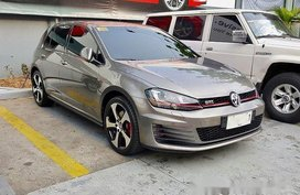 Grey Volkswagen Golf 2015 Automatic Gasoline for sale in Makati