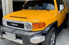 Sell 2nd Hand 2015 Toyota Fj Cruiser at 14000 km in Pasig