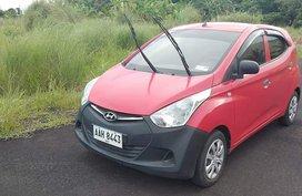Selling Hatchback Red Hyundai Eon 2014