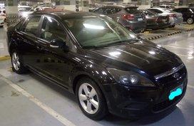Black 2009 Ford Focus Manual Gasoline at 50000 km for sale