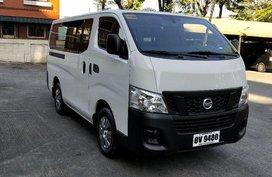 White Nissan Nv350 Urvan 2016 at 11068 km for sale