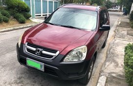 2nd Hand Honda Cr-V 2002 Automatic Gasoline for sale in Pasig