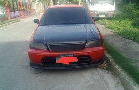 Selling Red Honda City 1997 Sedan Manual Gasoline in Quezon City