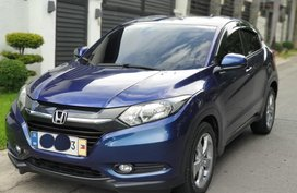 Sell Blue 2015 Honda Hr-V at 37000 km in Las Piñas