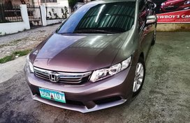 Sell 2nd Hand 2012 Honda Civic at 80000 km in Silang