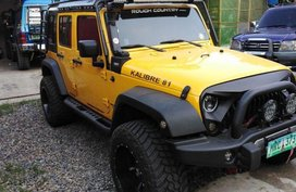 2nd Hand Jeep Rubicon Automatic Gasoline for sale in Minalin