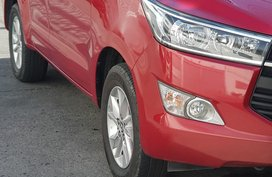Sell Red 2016 Toyota Innova in Bulacan